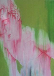 Dust Boy 100x100 cm Akryl na plátně Praha 2013